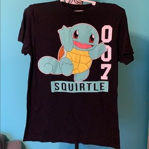 FINAL PRICE Pokémon 007 Squirtle Logo Shirt